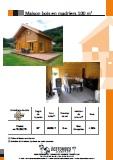 maison bois en madriers 100m2