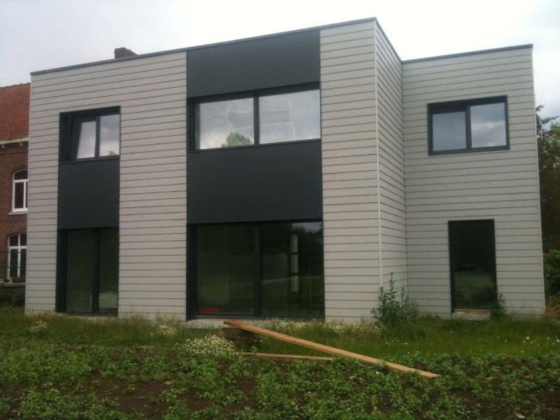 Constructeur maison en bois pas cher montage maisons for Bardage maison composite