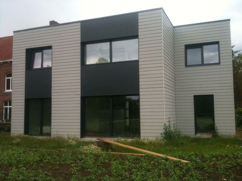 maisons ossatures bois stunning maison ossature bois. Black Bedroom Furniture Sets. Home Design Ideas