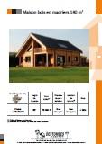 maison bois en madriers 140 m2