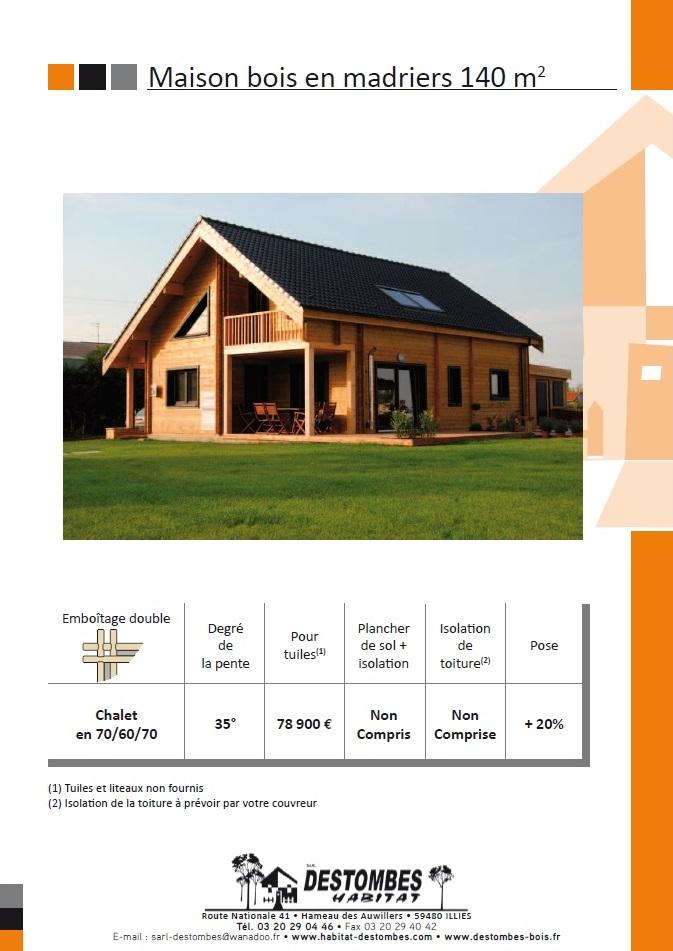 maison bois 140m2