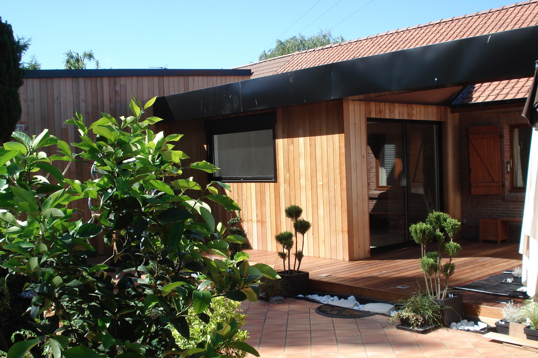 Extension a ossature bois comment agrandir sa maison for Agrandir sa maison en ossature bois