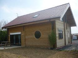 Maison madrier 11 de 100m