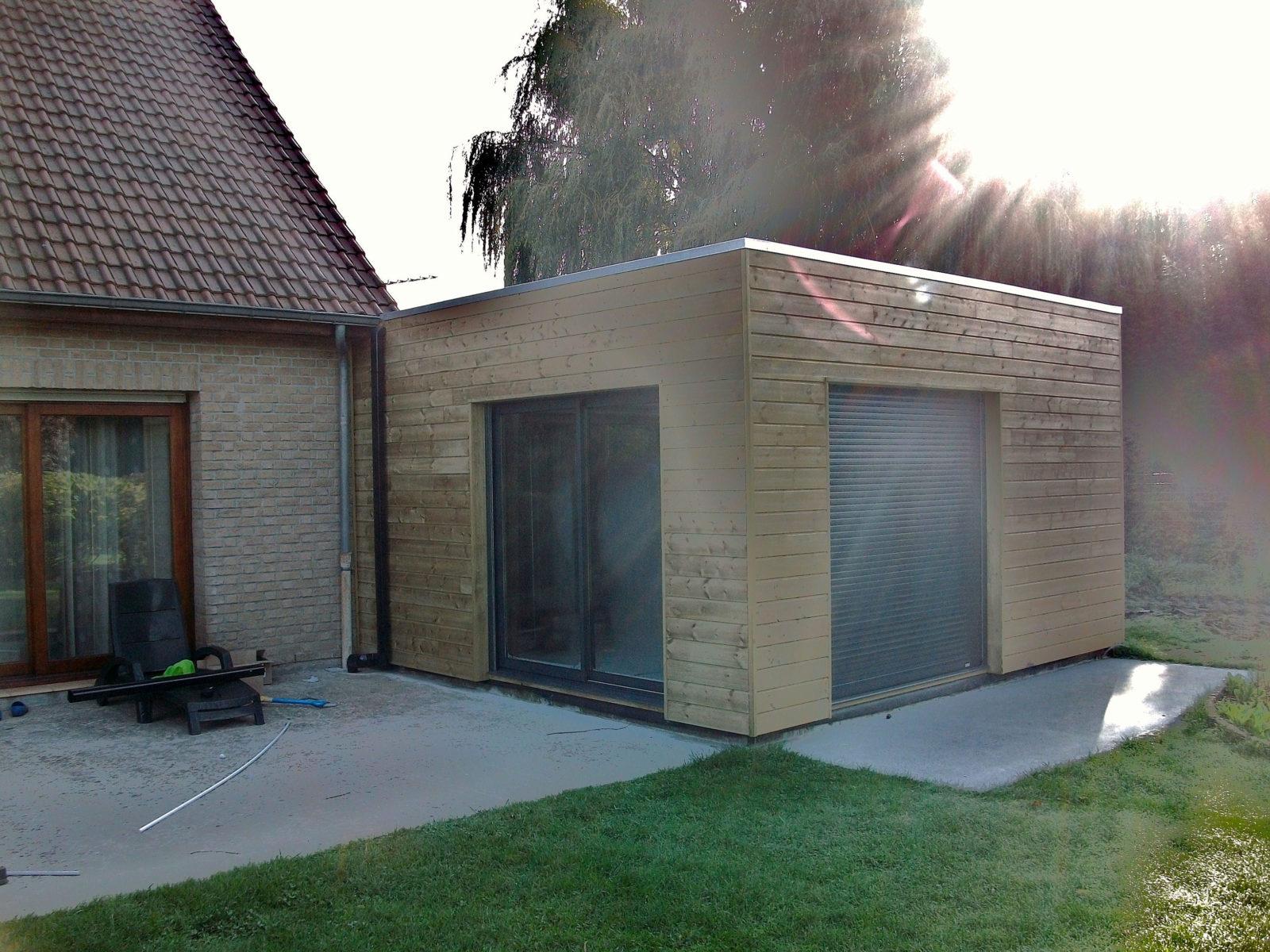 Quel coût pour une extension bois ?