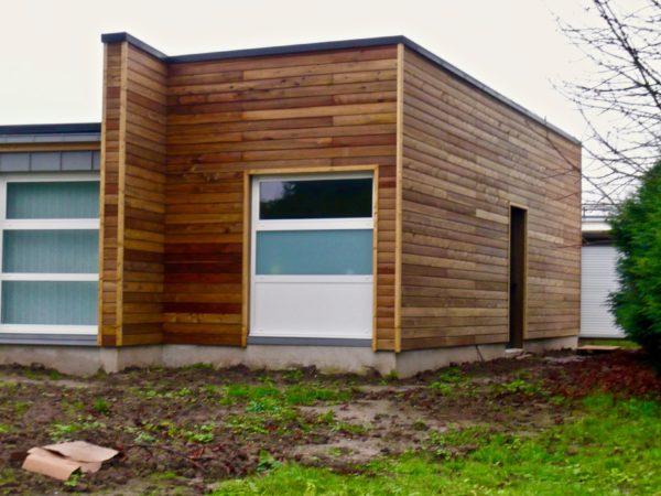 Cabinet maison ossature bois