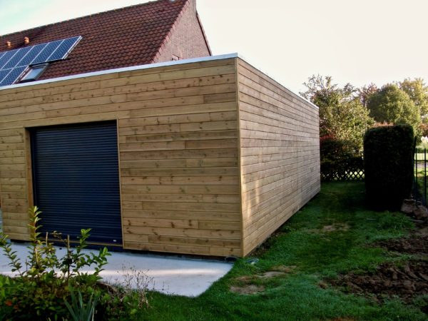 extension en bois sur maison traditionnelle