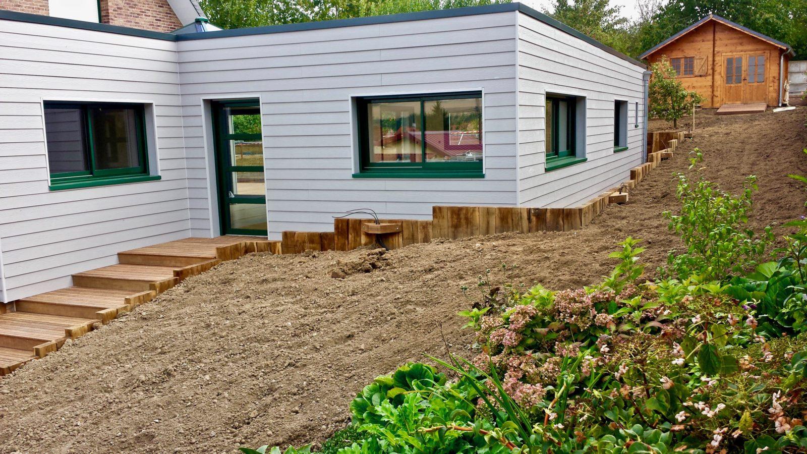 extension en composite sureleveesur maison traditionnelle 2