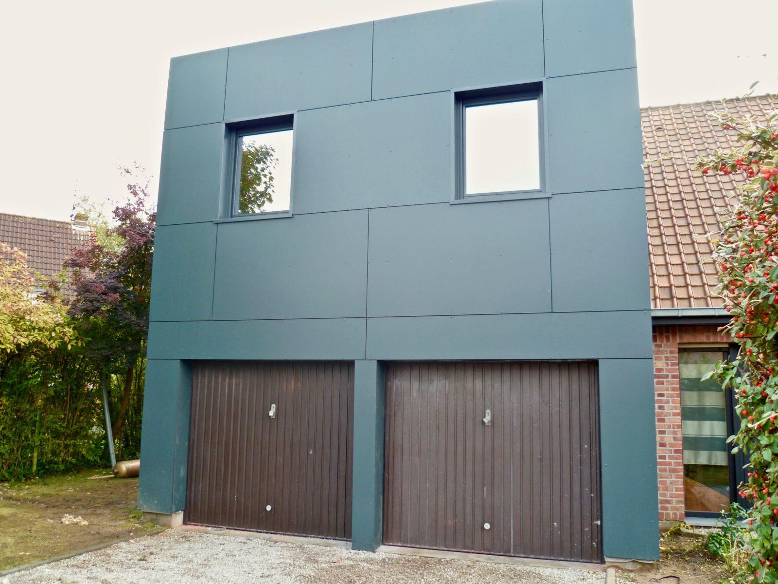 extension moderne d-etage en Trespa 4