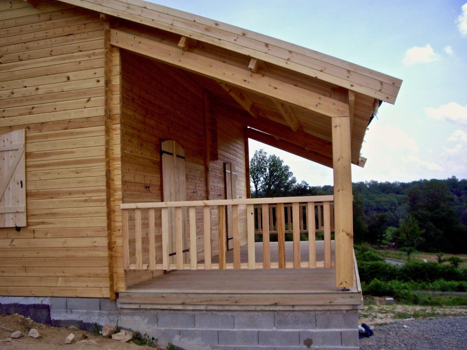 maison en madrier montagnarde2