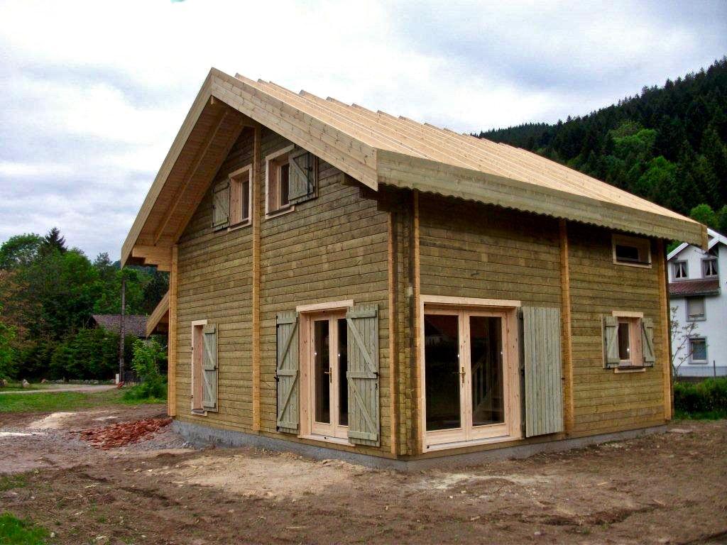 maison en madrier type montagne 3