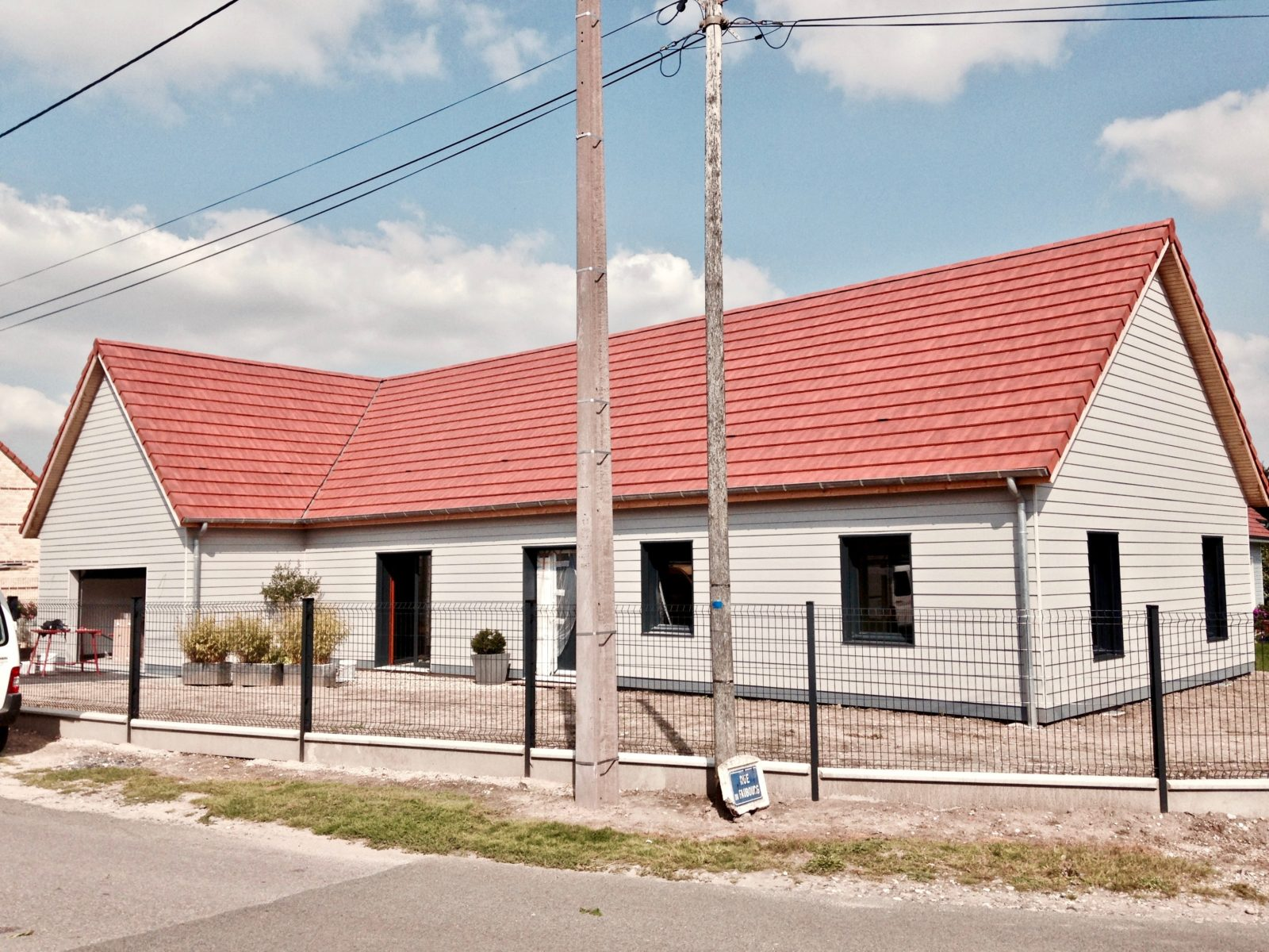 maison traditionnelle plein pied 1