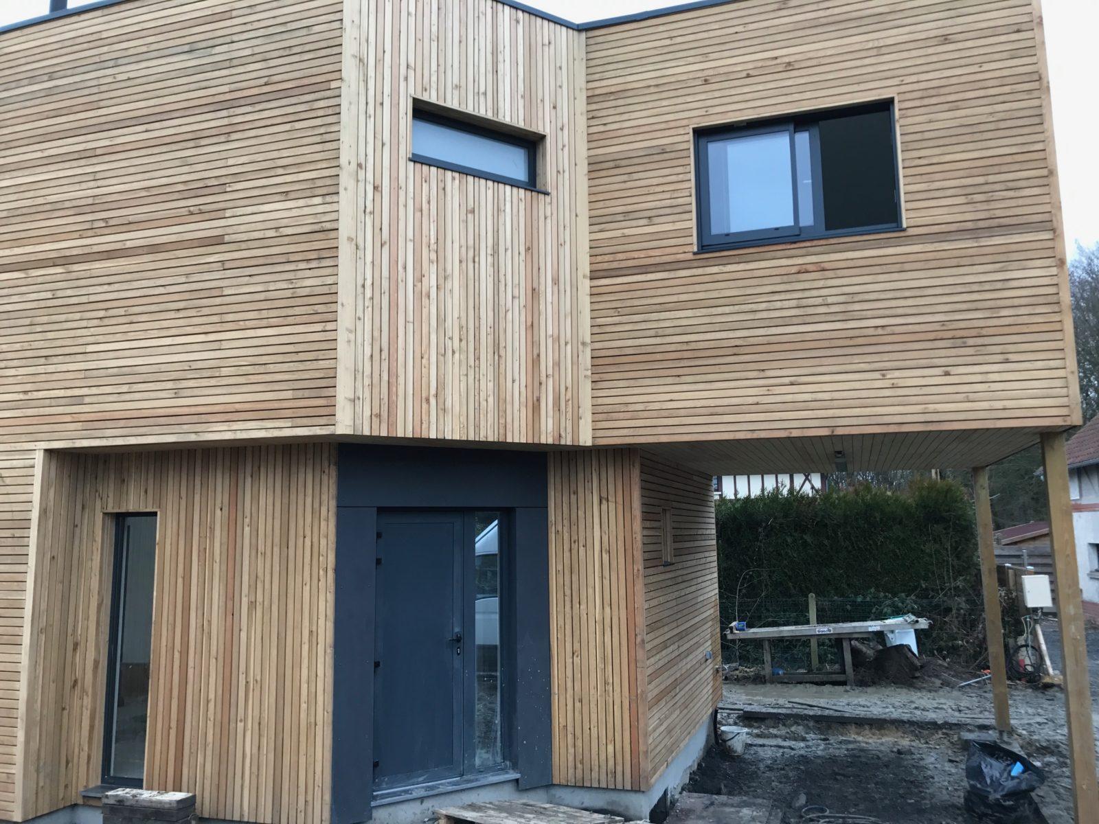 maison a ossature bois destombes habitat