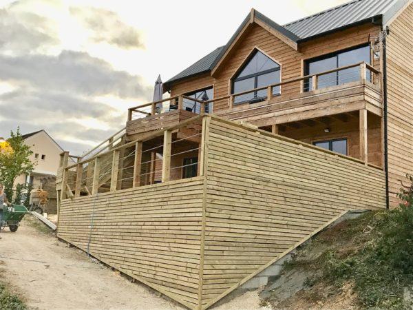 Quel type de bois pour une maison à ossature bois?