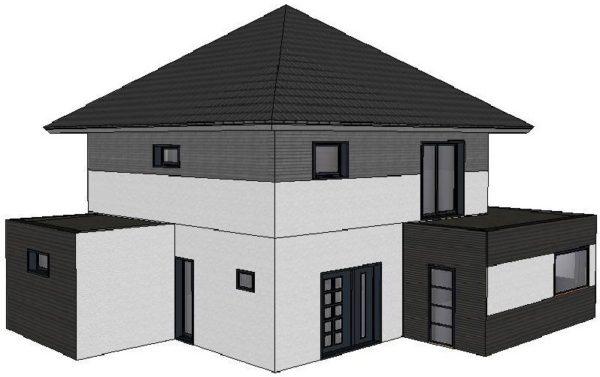 Maison à ossature