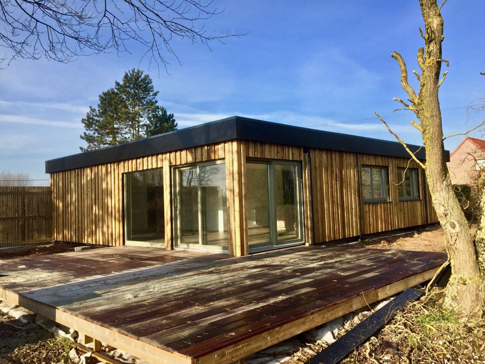 Loft avec terrasse maison modernechalet en bois maison contemporaine