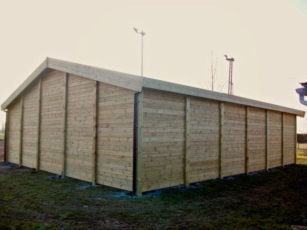 boulodrome maison en bois