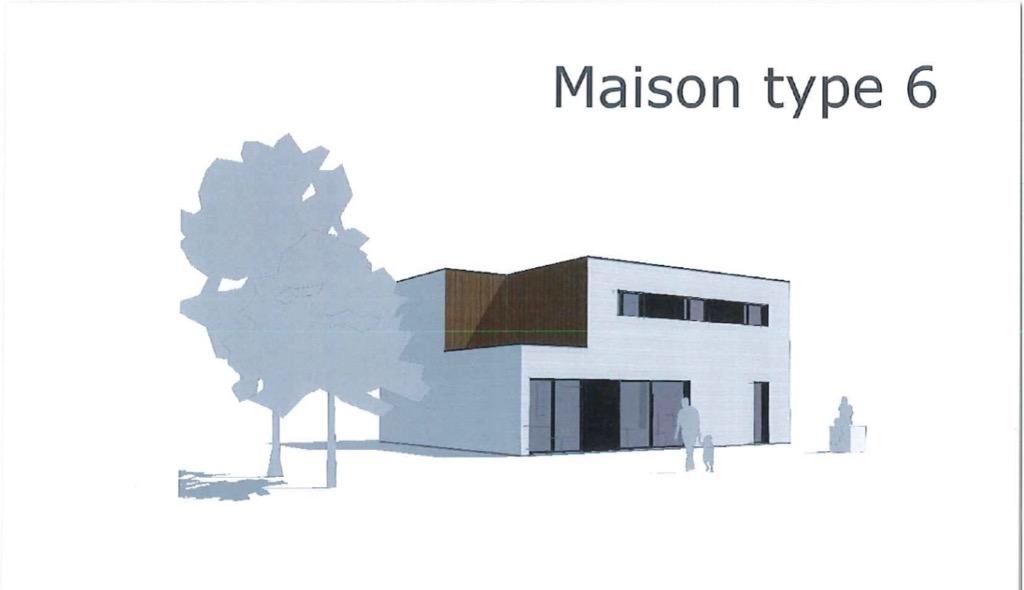 Maison type 6.2 contemporaine ossature bois