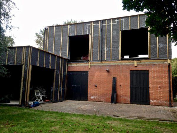 extension d-etage en bois