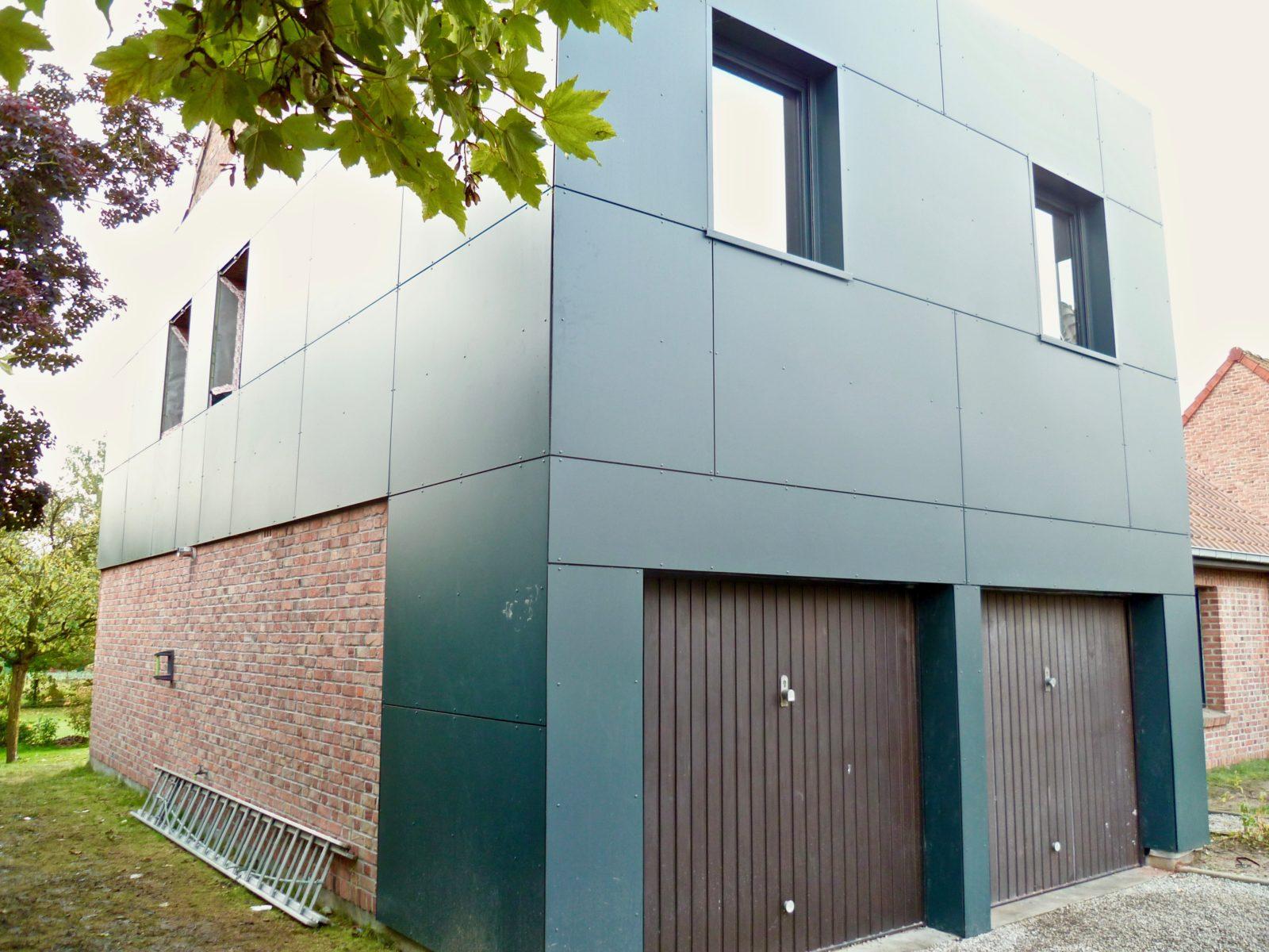 extension moderne d-etage en Trespa 2