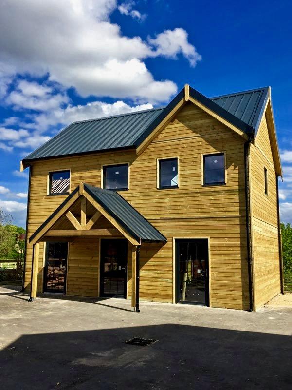 maison bois avec porche 2