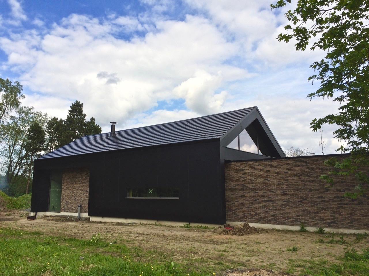 maison contemporaine en brique et Trespa 2