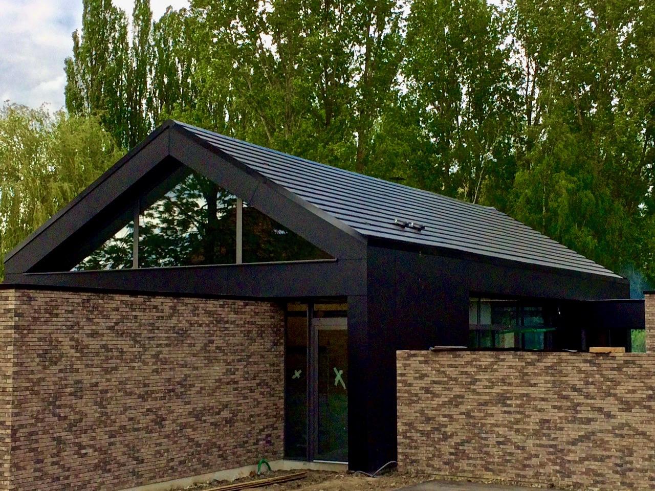 maison contemporaine en brique et Trespa 4