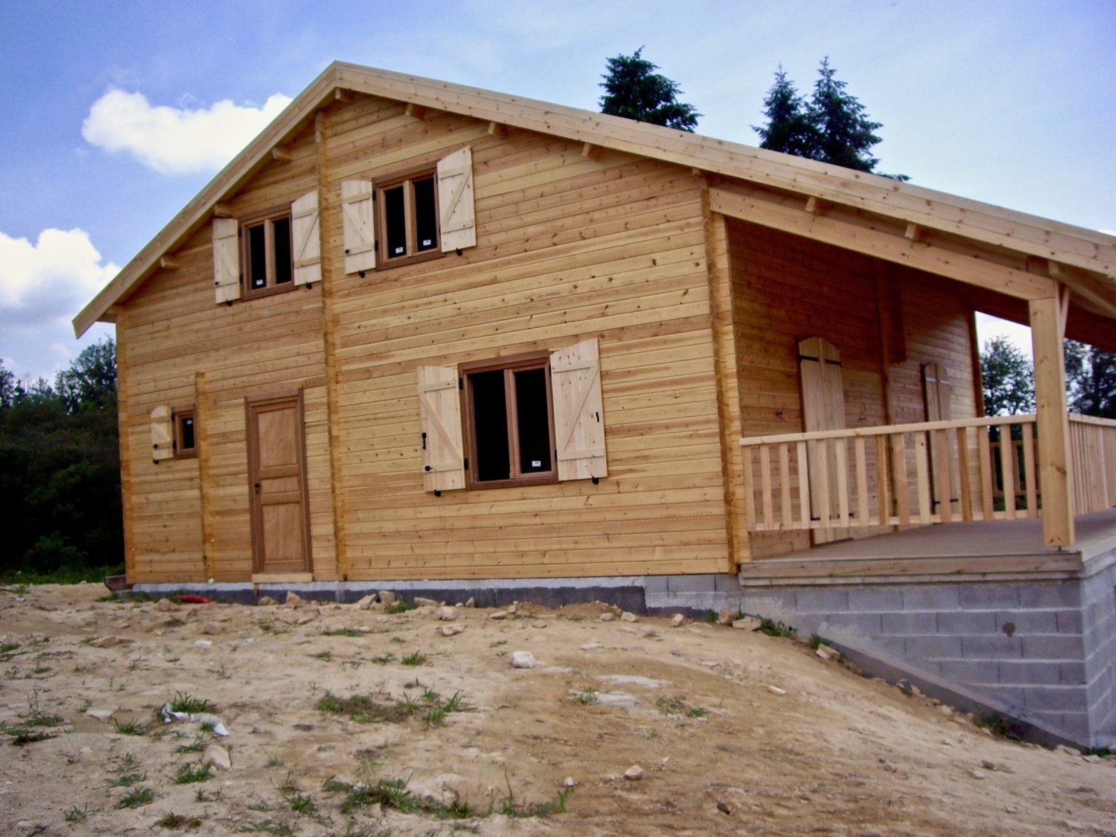 maison en madrier montagnarde3