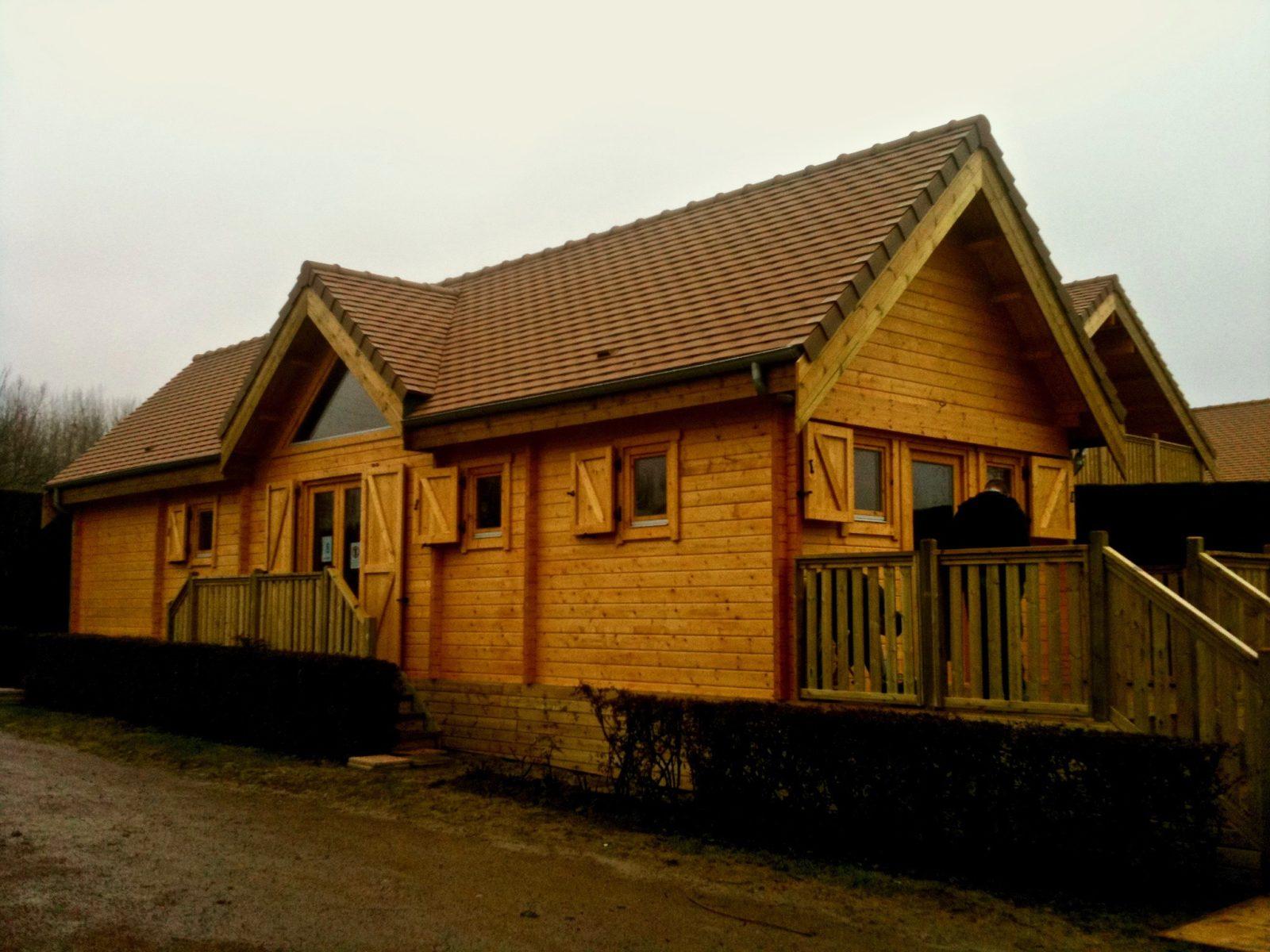 maison en madrier style forestier 1