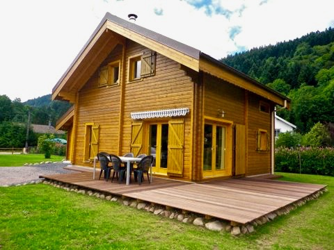 maison en madrier type montagne