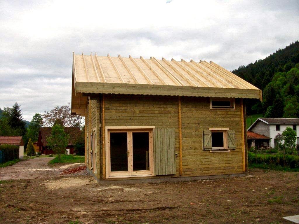 maison en madrier type montagne 4
