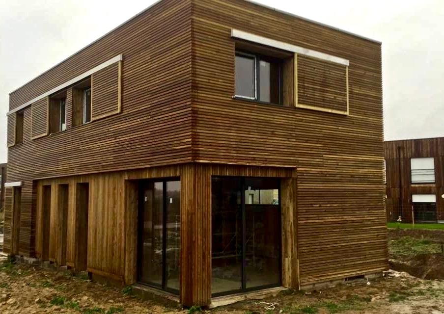 maison moderne «tout en bois» 2