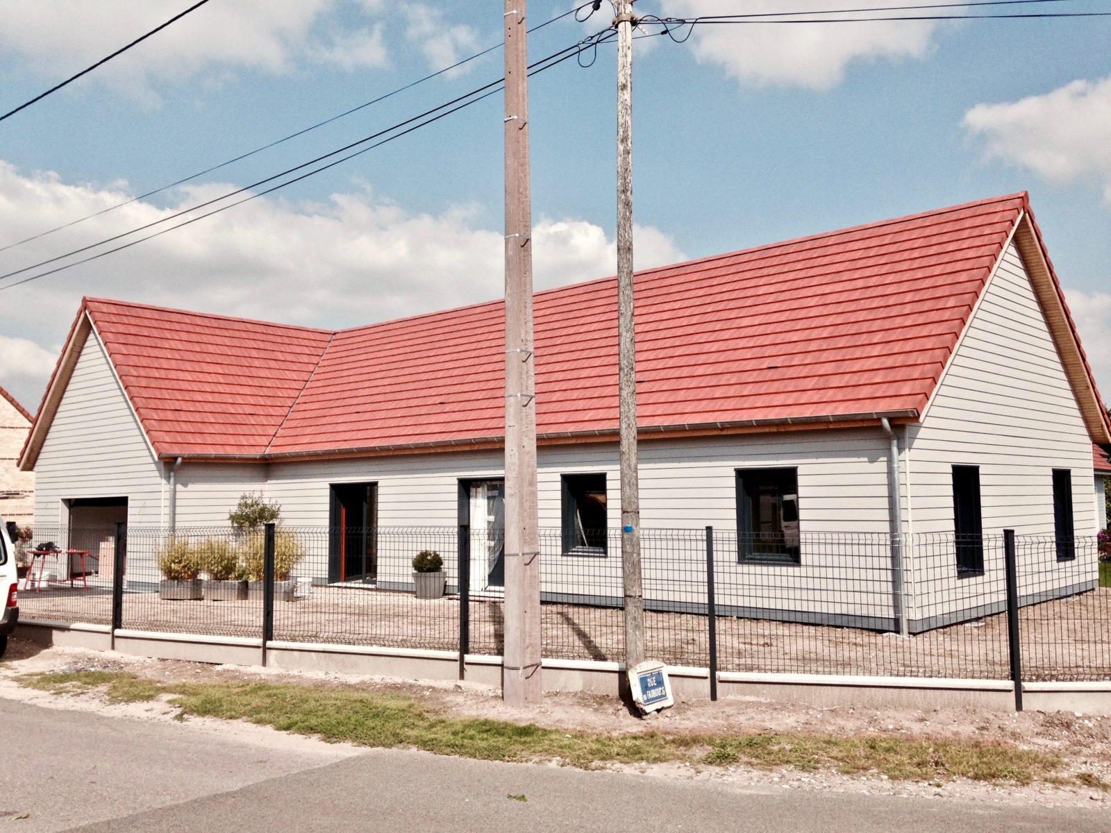Maison traditionnelle plein pied