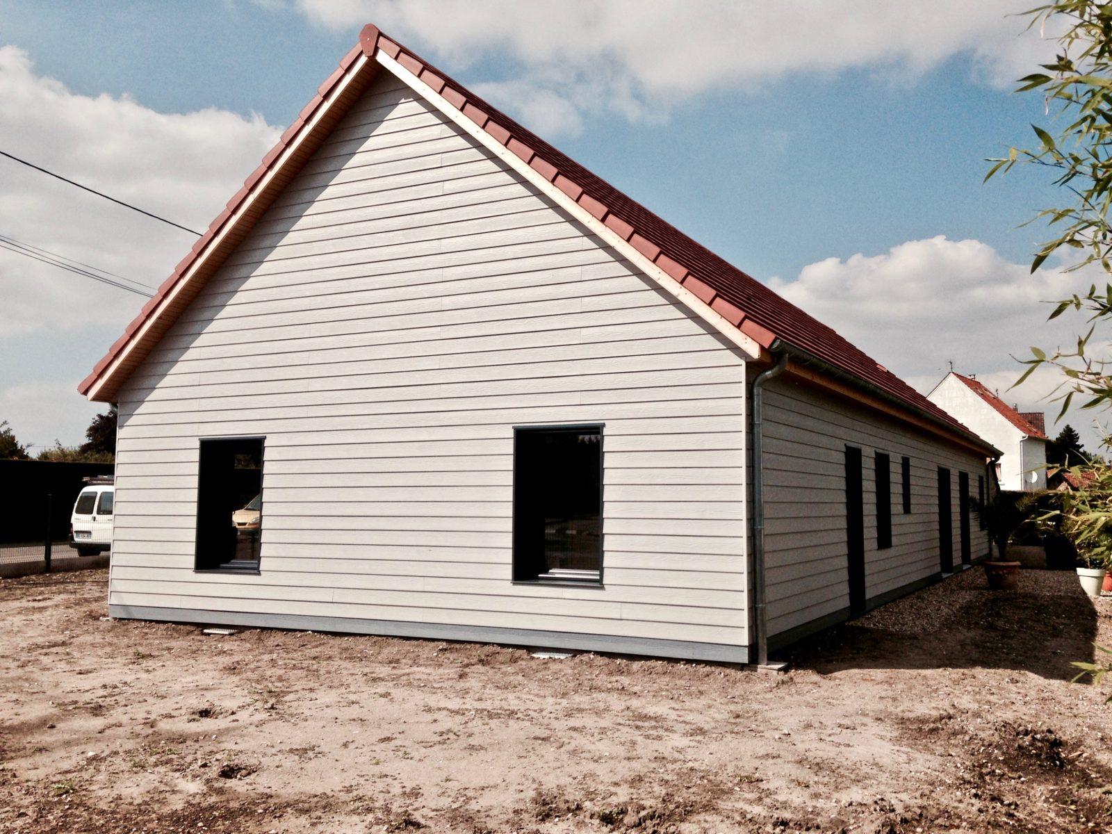 maison traditionnelle plein pied 2