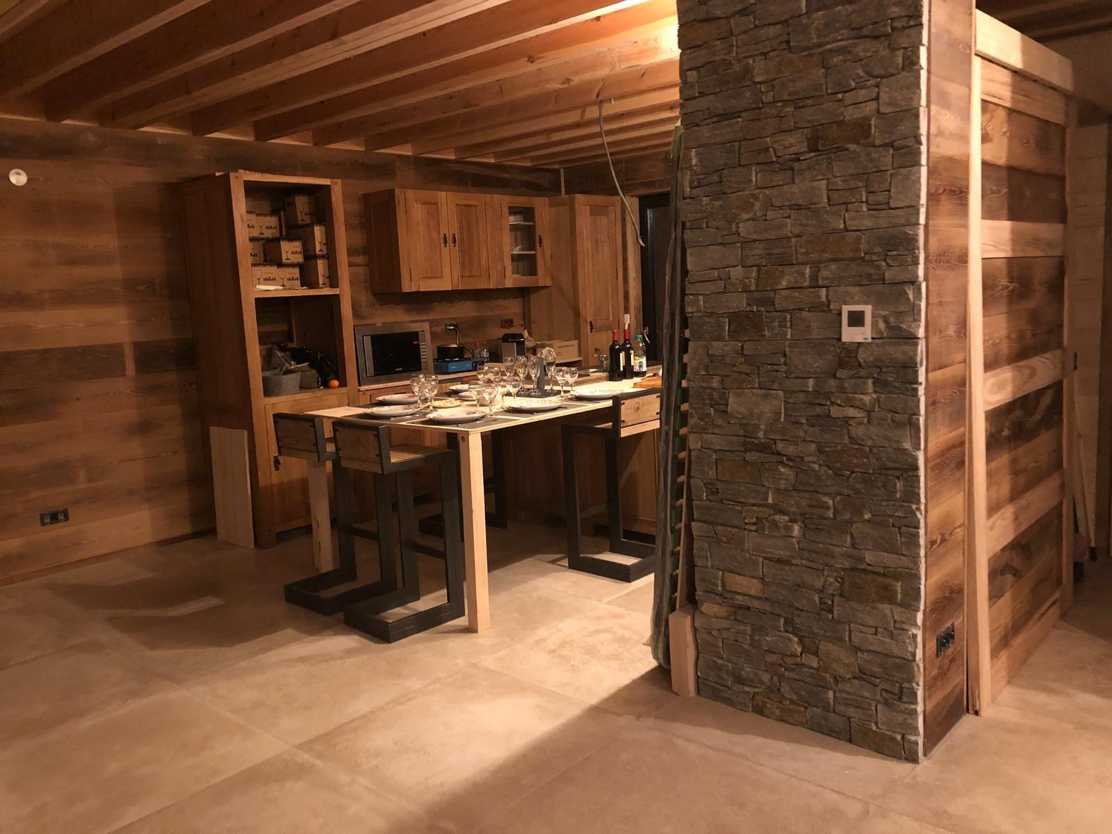 chalet Savoie intérieur