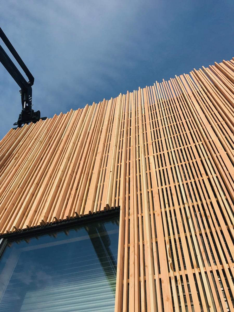 Quel entretien extérieur pour une maison à ossature bois?